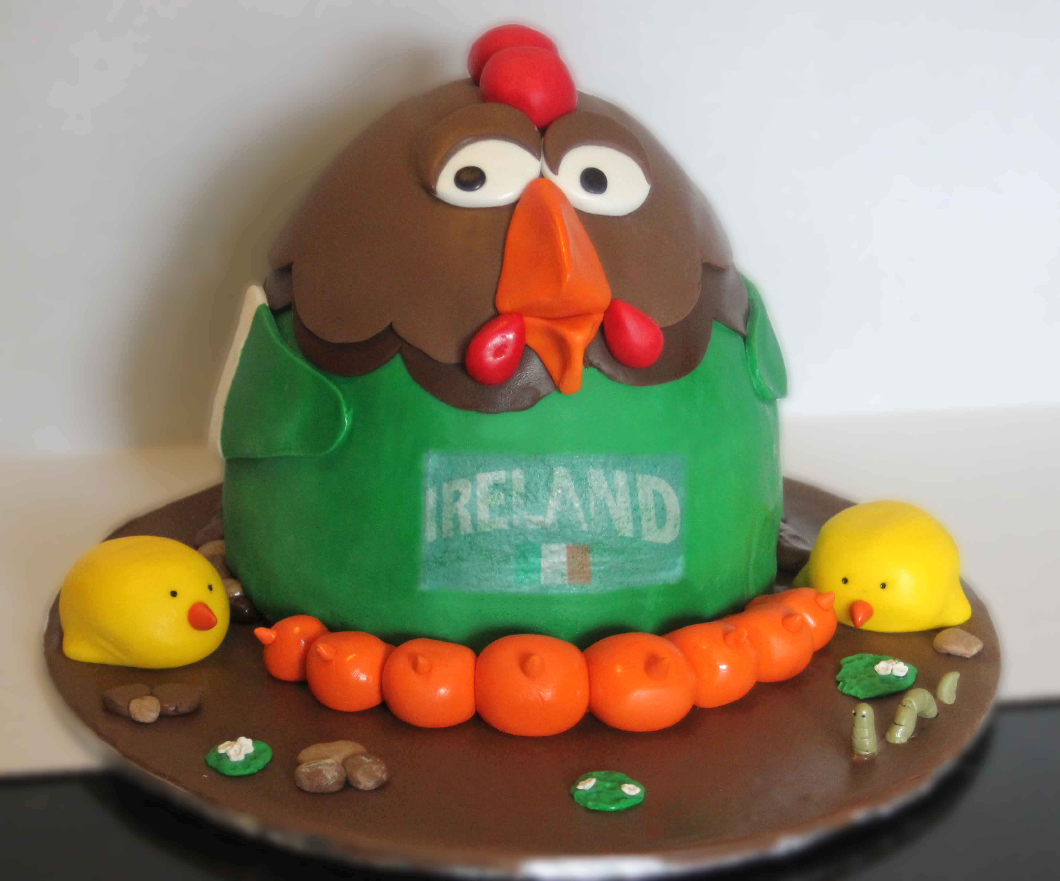 rooster cake nais cakes