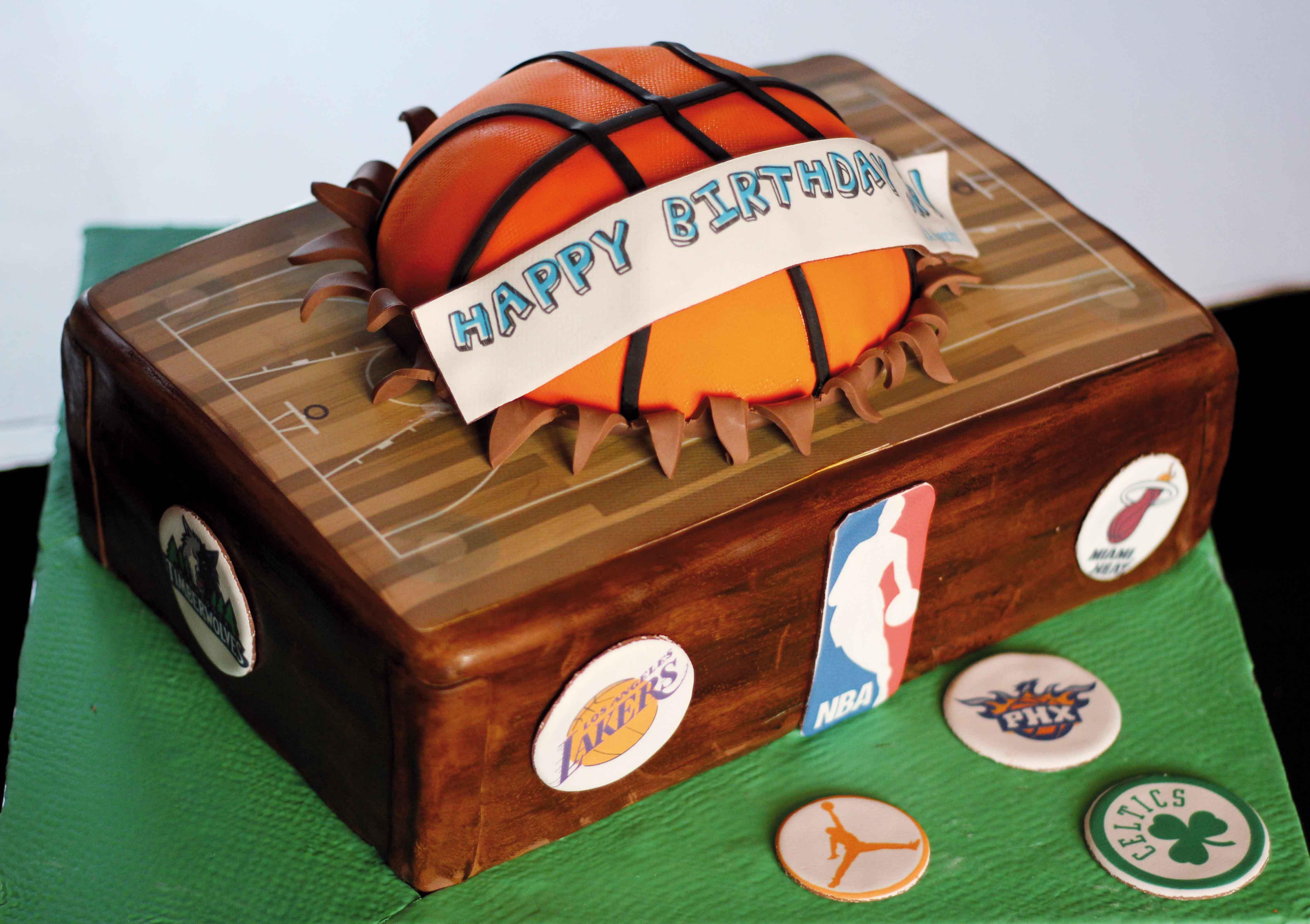 Stupendous Basketball Nais Cakes Funny Birthday Cards Online Kookostrdamsfinfo