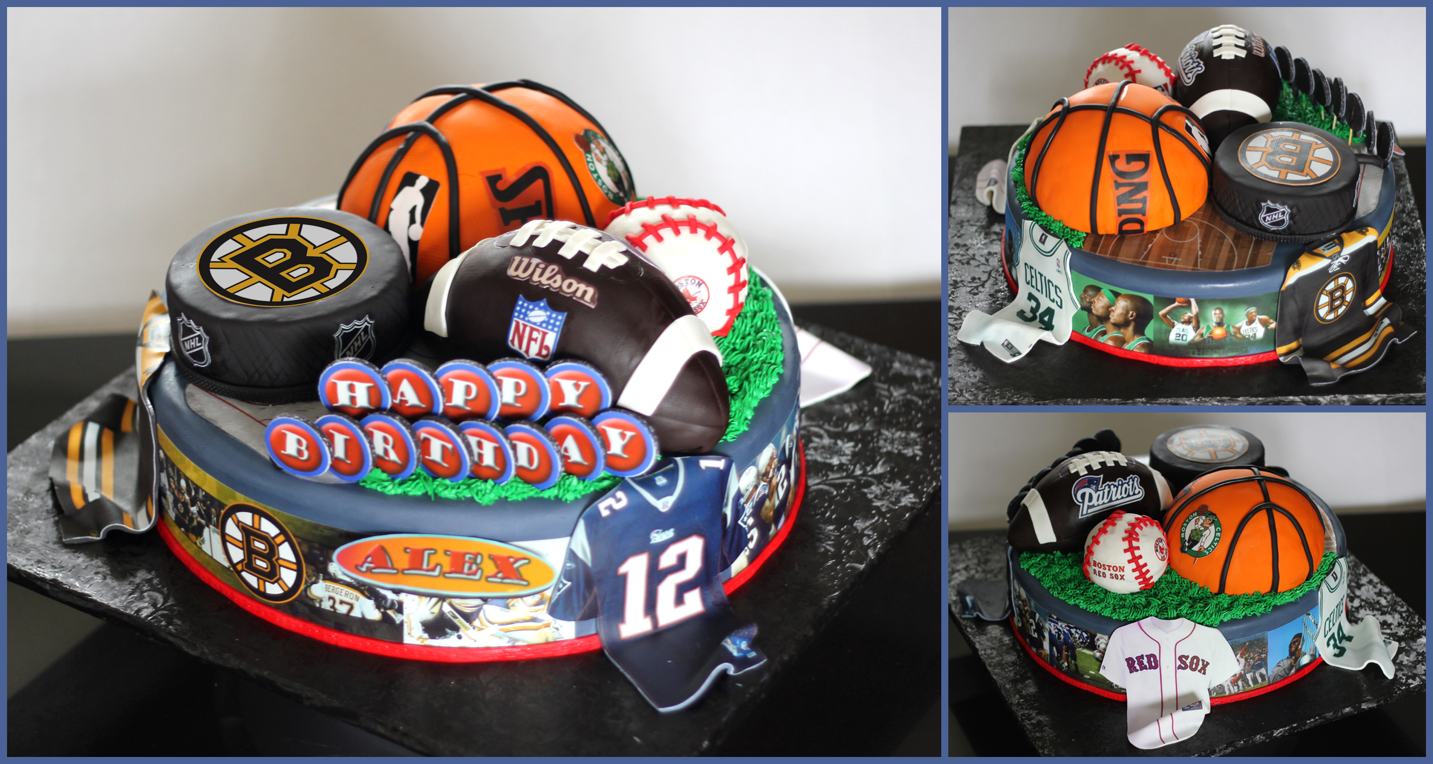 Boston Sports Cake Nais Cakes