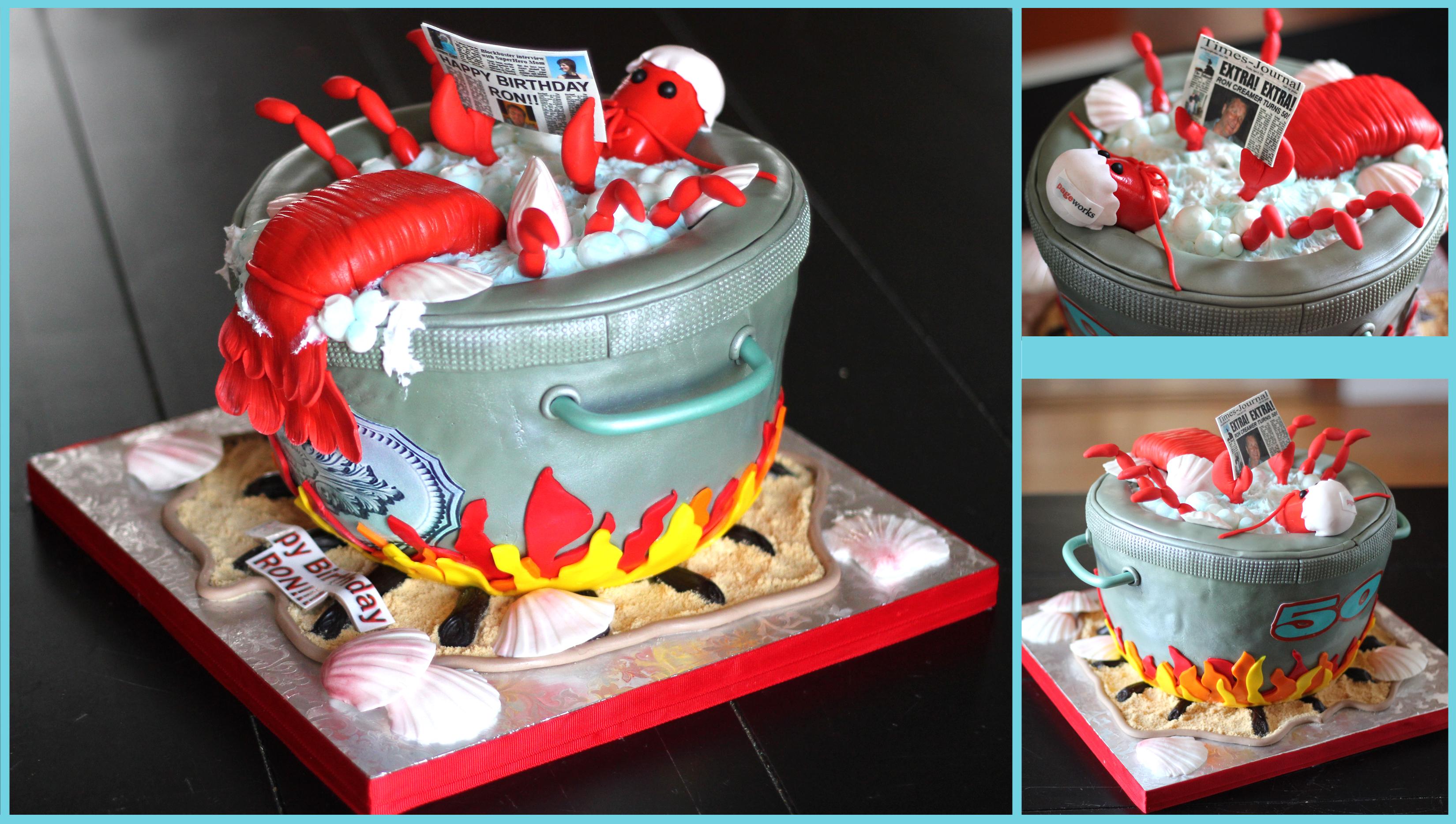 Lobster Cake – Nais Cakes
