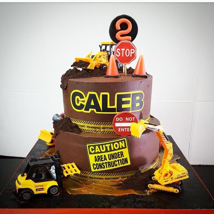 construccion cake