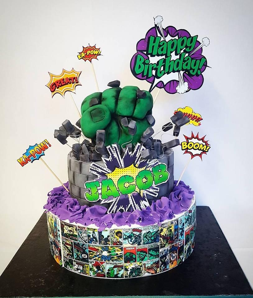Hulk Cake Nais Cakes